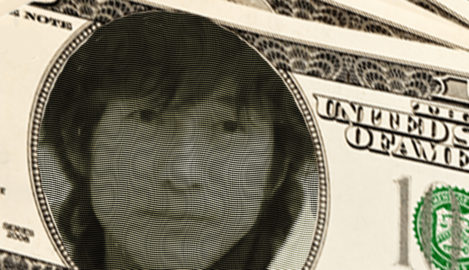 【Photoshop】人物写真をオリジナルの紙幣風に加工する方法