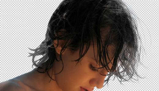 【Photoshop】髪の毛をキレイに切り抜く(透過する)方法